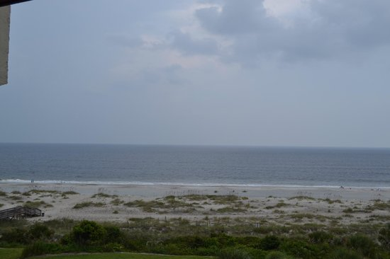 Villas of Amelia Island Plantation: View of the beach from our Sandcastles Villa room