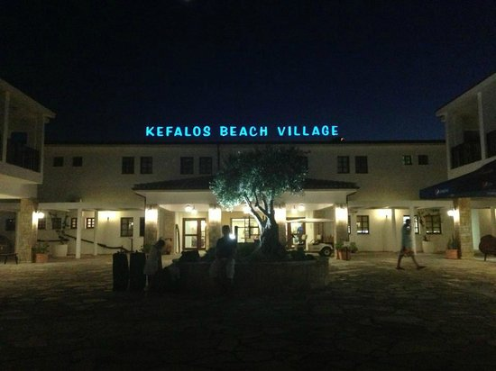 Kefalos Beach Tourist Village: Entrance to hotel