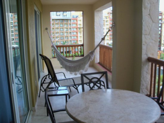 Villa del Palmar Cancun Beach Resort & Spa : balcony of onebed suite