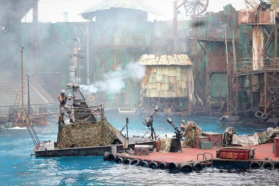 waterworld - Picture of Universal Studios - Singapore ...
