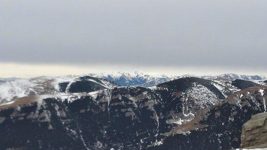 Bucegi  Mountains: The view