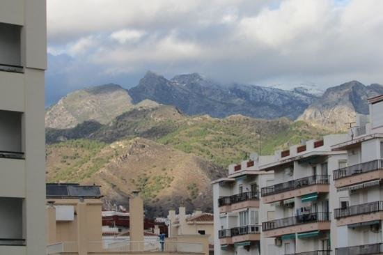 Hotel Riu Monica : view of mountains from balcony