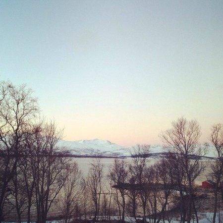 Sydspissen Hotel: Вид из окна