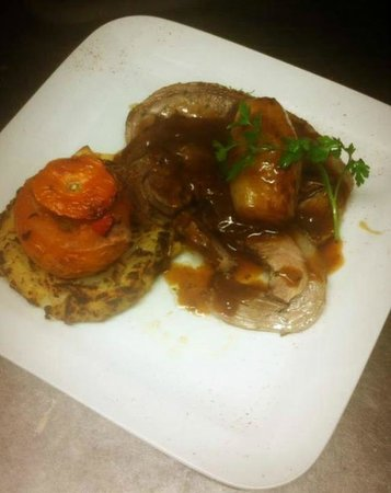"Cronins Restaurant : One of our many specials tonight,""Ring of Kerry""Cannon of Lamb. Slowly Roasted Cannon of lamb se"