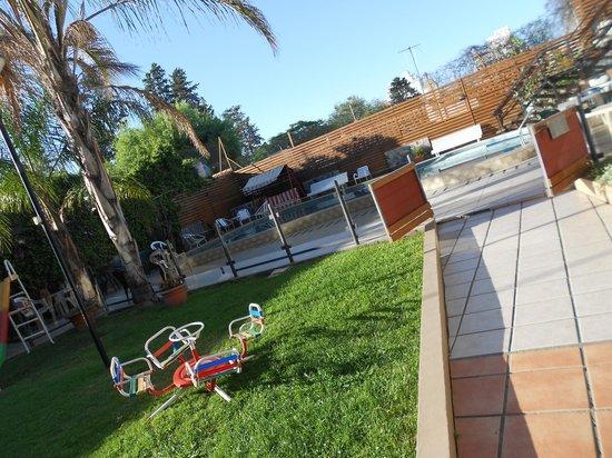 Gran Lourdes Hotel: Parque infantil