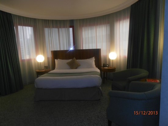 City Seasons Al Hamra Hotel Abu Dhabi: Junior Suite where I was
