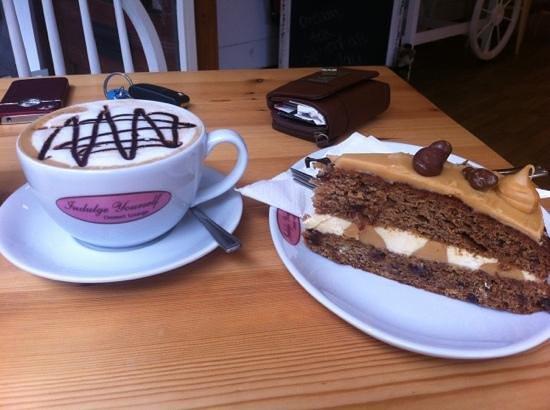 Indulge Yourself: fabulous cake and coffee