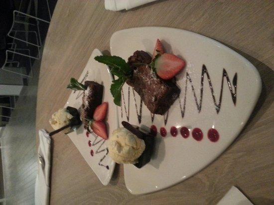 Novotel Manchester Centre : dessert mmmmm!!