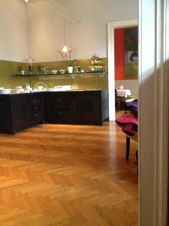 Hotel Altstadt Vienna: breakfast room