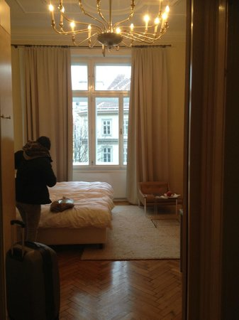 Hotel Altstadt Vienna: the room