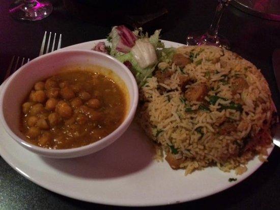 Akbar's: chicken Biryani