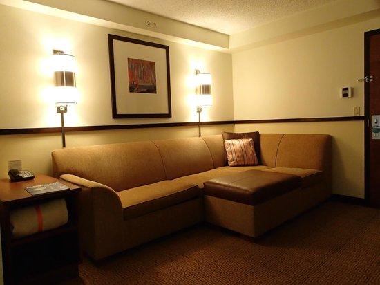 Hyatt Place Ft. Lauderdale 17th Street Convention Center: sitting area