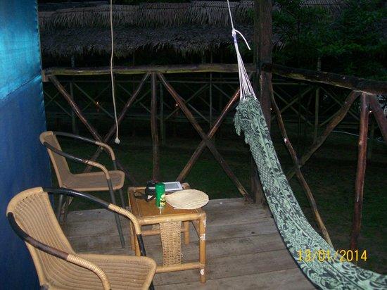 Muyuna Amazon Lodge: Balcón de la habitación