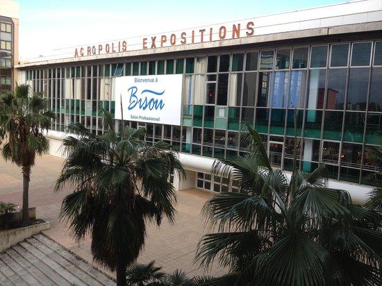 NH Nice: Le NH jouxte le palais des expositions