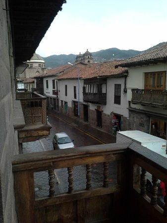 Hostal Santa Catalina : Balcon del hostal