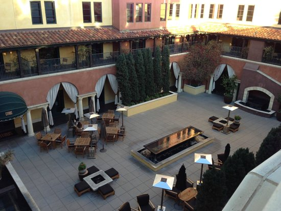 Hotel Valencia - Santana Row: View of the outdoor dining/terrace area