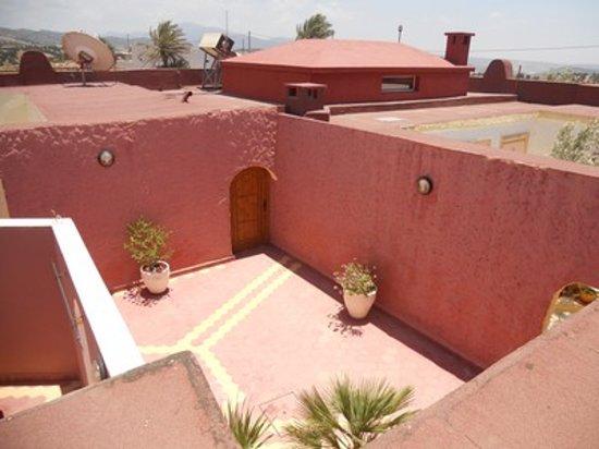 Riad Rev Aventures : le patio principal