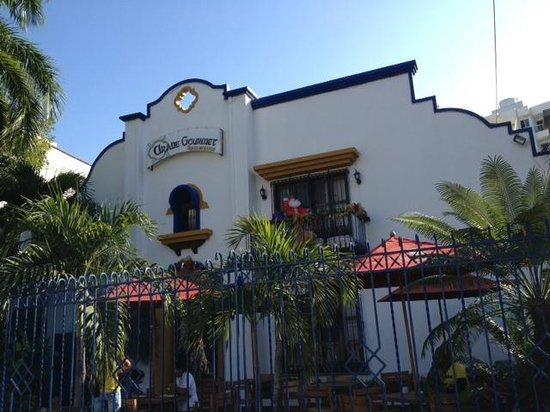 Arabe Gourmet : Árabe Gourmet facade - Barranquilla, Colombia.