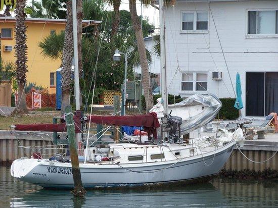 Treasure Bay Resort & Marina : View from our balcony