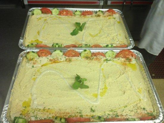 Amanouz Cafe: Hummus platter