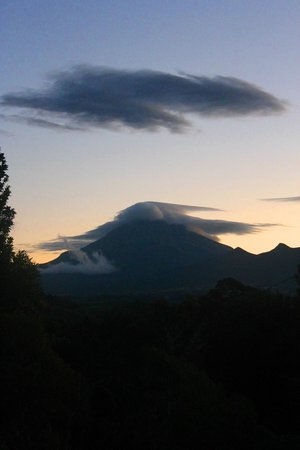 One Burgess Hill : Mount Taranaki from the driveway