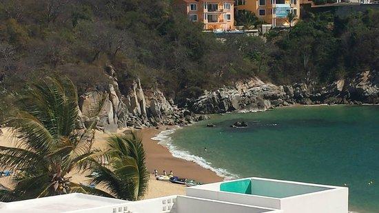 Camino Real Zaashila: great beach near the beach club