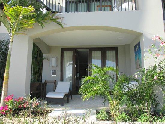 Sandals LaSource Grenada Resort and Spa: 8000 Block Room Entrance