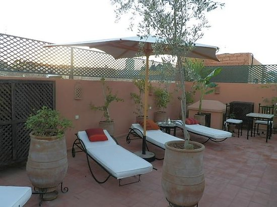 Riad Chafia : terrasse