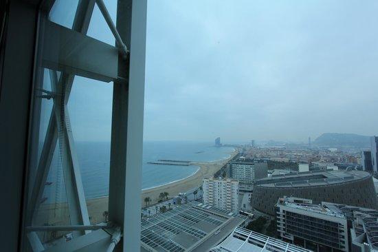 Hotel Arts Barcelona : Uitzicht