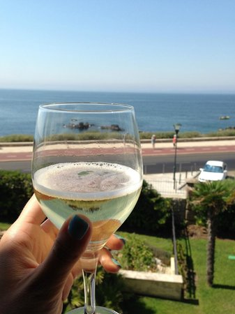 Grande Real Villa Italia Hotel & Spa: вид из окна