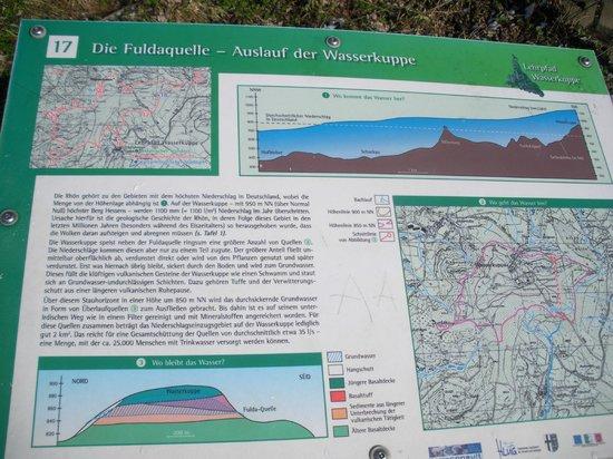 Wasserkuppe Gersfeld: Infos zur Fuldaquelle