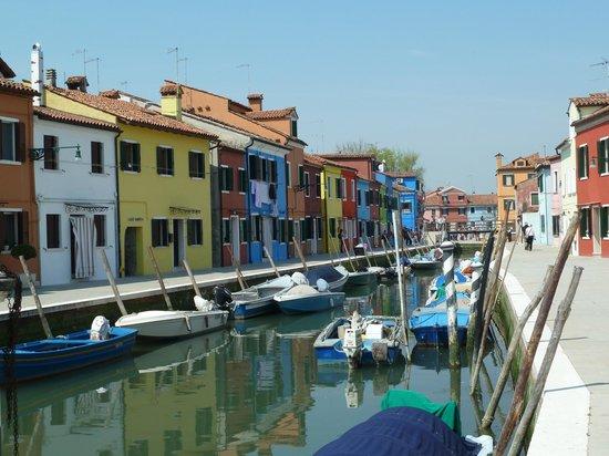 Laguna di Venezia: Burano, ses maisons colorées ...