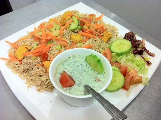 Saahil Indian Restaurant: Tasty chicken biryani