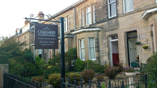 Chalmers Bed & Breakfast Ayr : my Chalmers Bed and Breakfast