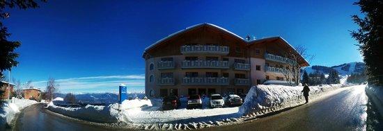 Facciata dell'Hotel Norge