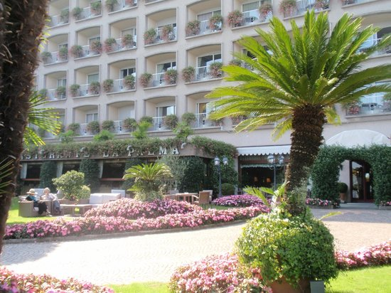 La Palma Hotel : Front of the hotel