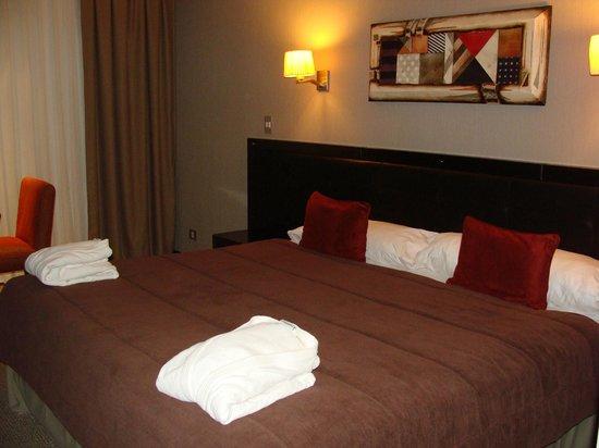 Imago Hotel & Spa: visão da cama