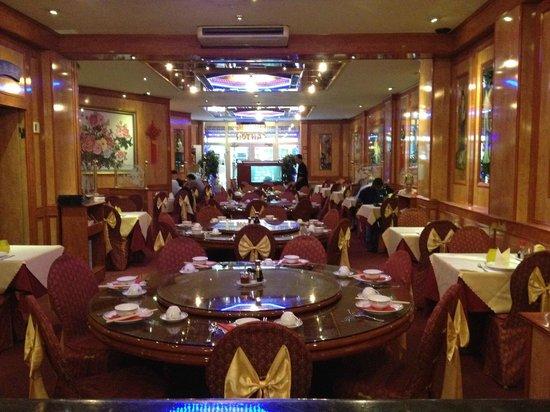 Canton Restaurant Inside