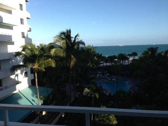 Hotel Riu Plaza Miami Beach : Ocean front view