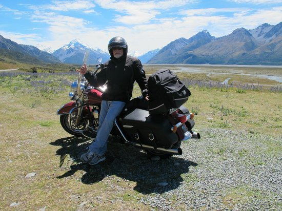 South Pacific Motorcycle Tours - Day Tours: Mt Cook