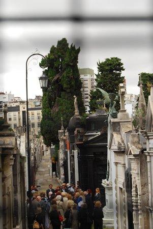Recoleta : Impressive Architecture at the Cemetery.