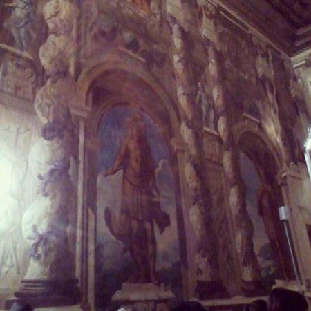Brignano Gera d'Adda, Italy: Dettaglio sala del Trono