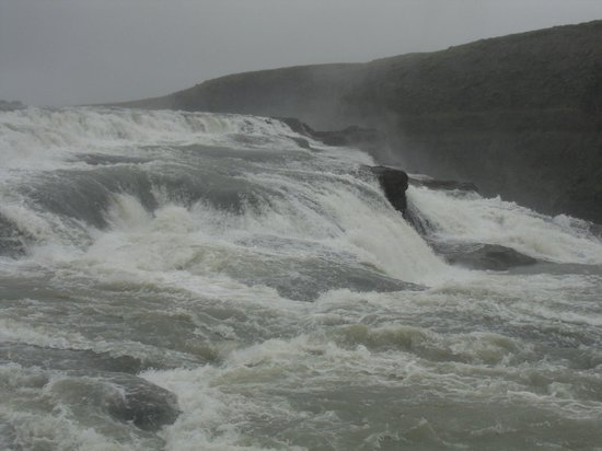 Gullfoss: You can get really close in the summer
