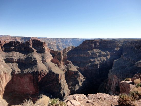Grand Canyon Skywalk: Skywalk permite también observar Eagle Point