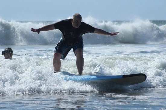 Point Break Surf School: Surfing is awesome, even for full-grown adults!