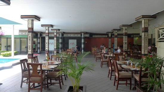 Fiji Gateway Hotel : The Dining Area