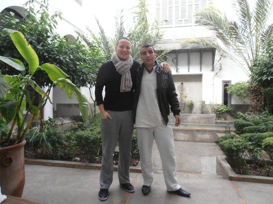 Zaouia 44: Hamid notre hôte super sympa