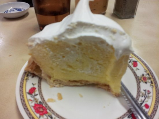 Hamura Saimin Stand: fluffy light yummy lilikoi pie