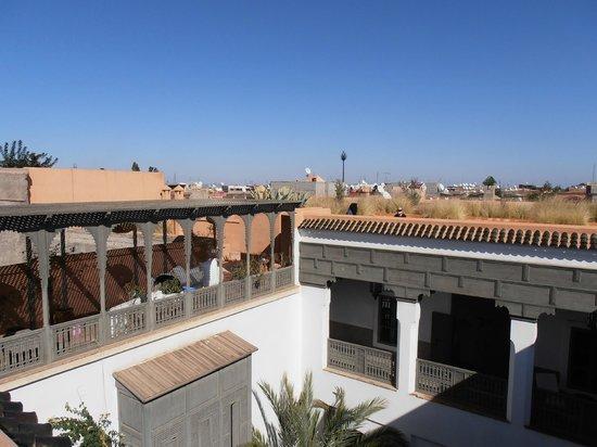 Zaouia 44: vue de la térrasse du toit