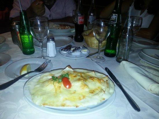 Montecatini: Estos son unos ravioles de jamon y muzzarela a los cuatro quesos